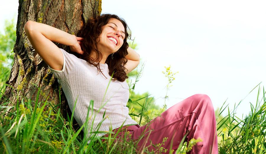 щастлива жена