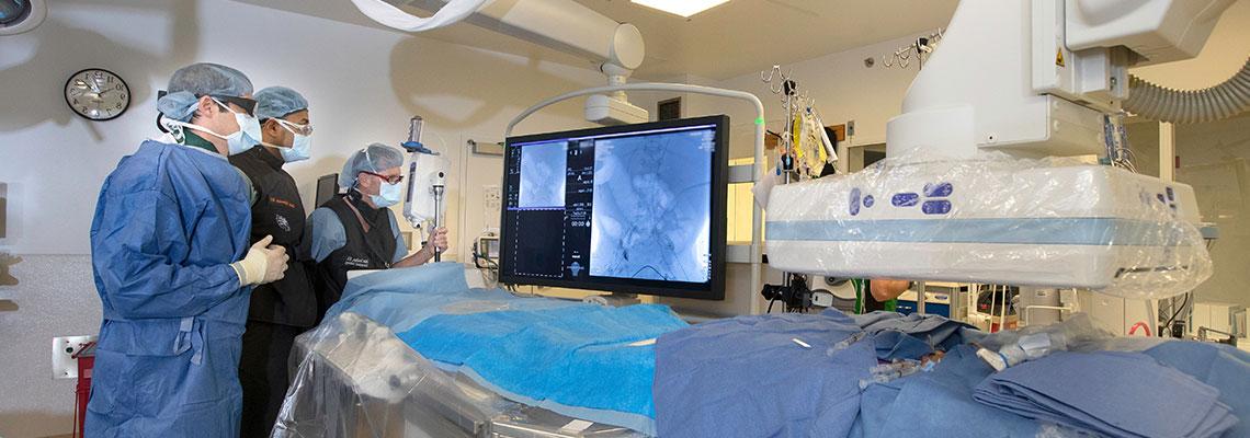 Безкръвни операции чрез интервенционална радиология